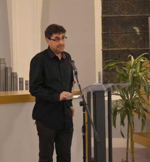 Photo de Christophe Jouffrais - Directeur du laboratoire Cherchons pour voir