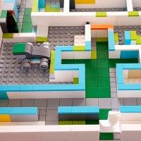 Photo de la Tangible Box (legos)